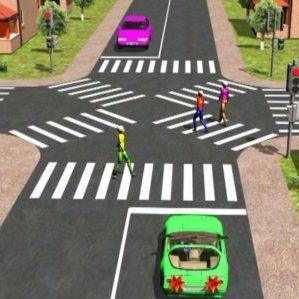 Переход дороги в неположенном месте и штрафы пешеходам