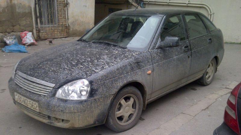 Есть ли штраф за грязный автомобиль