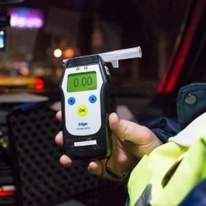Проверка водителя на алкоголь