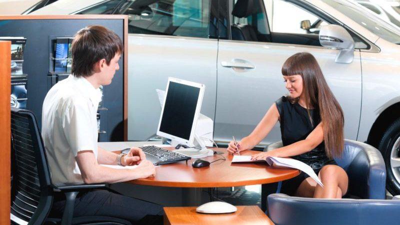 Оформление договора продажи автомобиля юридическим лицом физическому