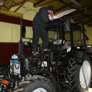 Прохождение техосмотра на трактор