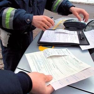 Штраф за езду на незарегистрированном авто