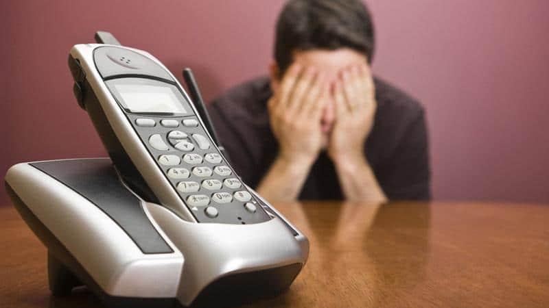 Неприятный звонок