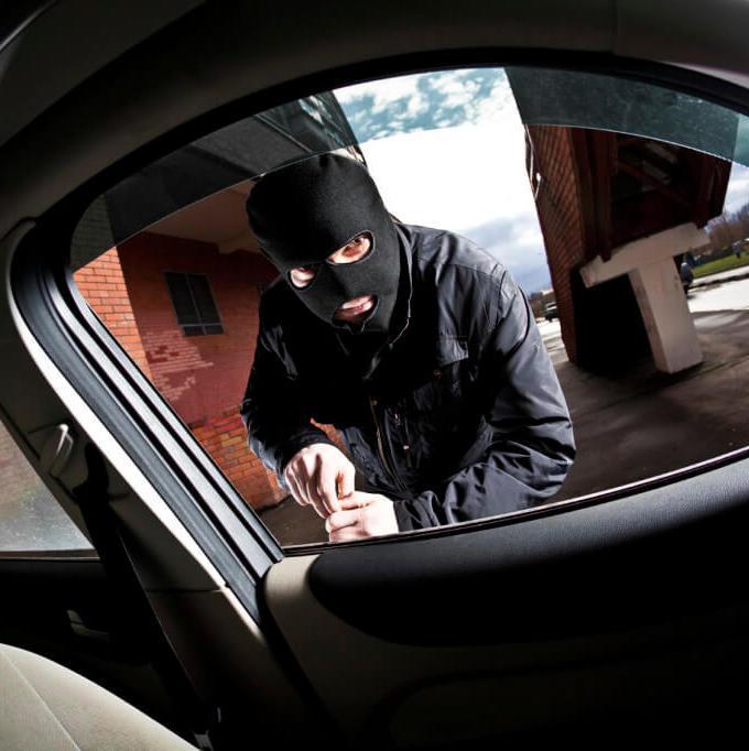 Заявление в полицию об угоне автомобиля образец