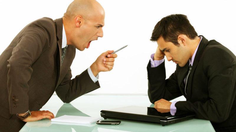 Что делать, если начальник на работе унижает