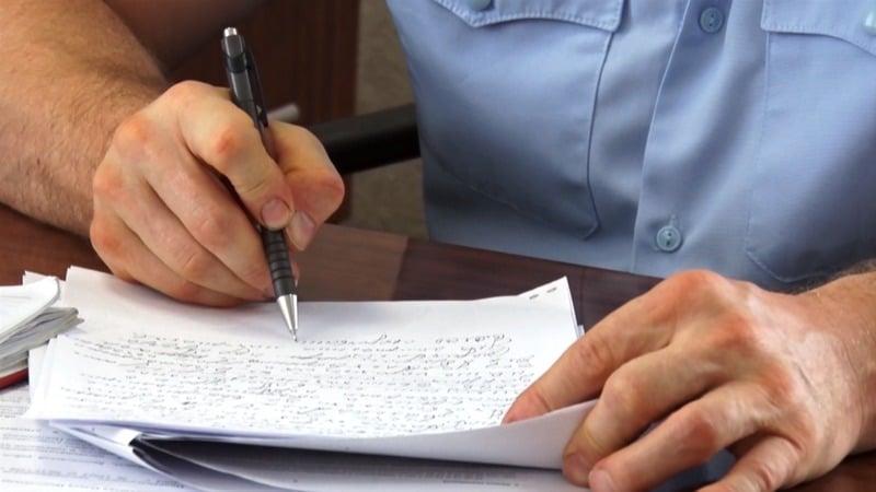 Как написать заявление о ложном доносе в полицию