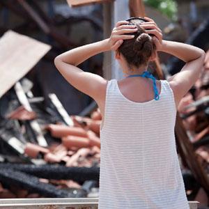 Неосторожность при уничтожении или повреждении имущества