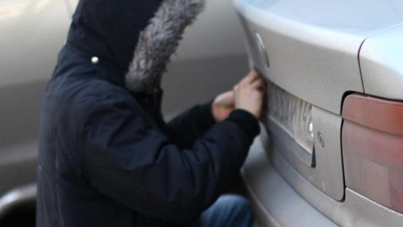 Ответственность за кражу гос. номеров с автомобиля по ст. 325.1 УК РФ