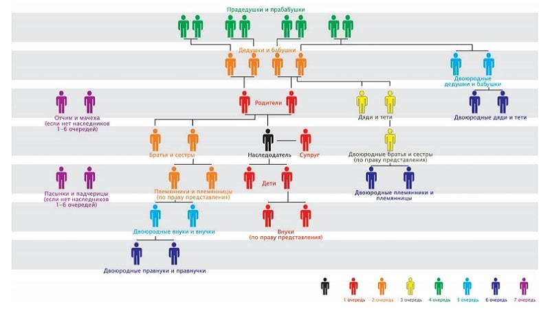 Порядок и особенности принятия наследства по ст 1152 ГК РФ